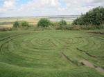 Julian's Bower Turf Labyrinth at Alkeborough, North Lincolnshire