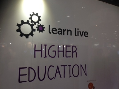 Bett Learn Live Higher Education lecture theatre
