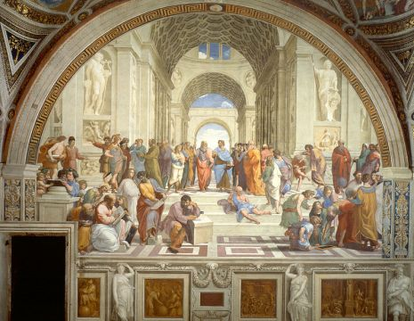 School of Athens painting by Raphael