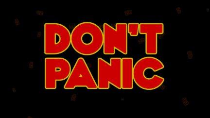 Don;t Panic text