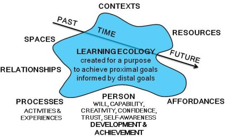 Learning Ecology Model from http://www.normanjackson.co.uk/learning-ecology.html