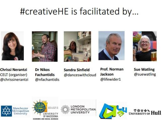 #creativeHE facilitators