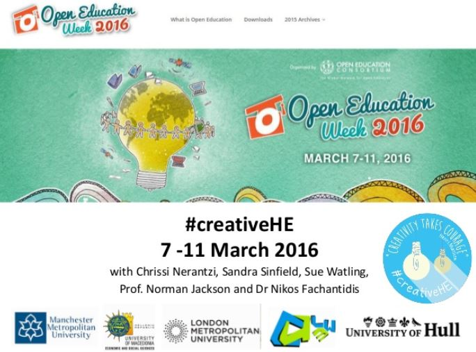 Postr for Open Education Week