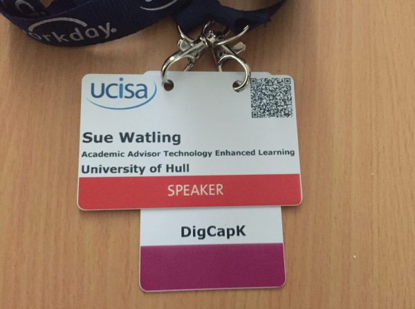 UCISA conference name badge