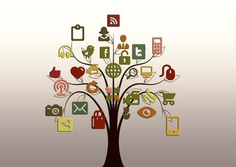 social media icons pixabay