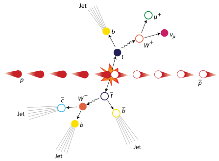 diagram of theoretical quarks
