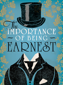 Poster for the play the importance of being earnest