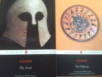 The Iliad and the Odyssey book covers