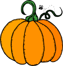 pumpkin clipart from pixabay