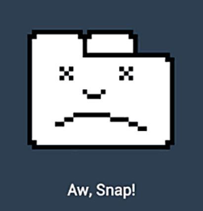 aw-snap