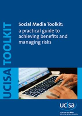 UCISA Social Media Toolkit front cover