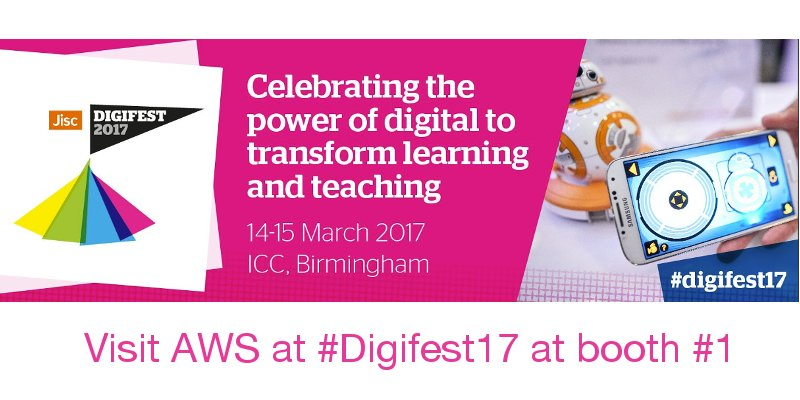 advertising from jisc digifest17