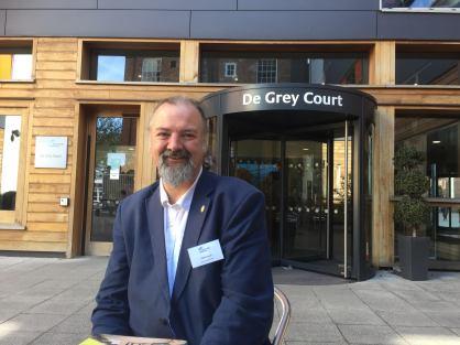photo of colleague Patrick Lynch at York St John