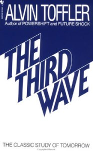book cover for Third Wave image from wikipedia