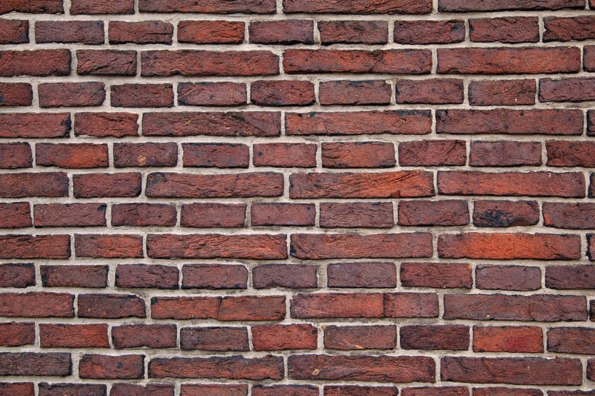 image of brick wall from pixabay