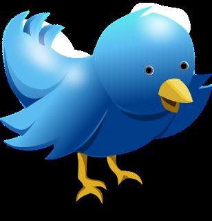 blue twitter bird