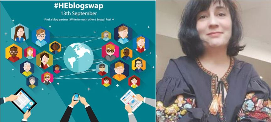 blogswap logo with image of Chrissi Nerantzi