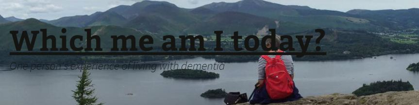 Wendy Mitchell website banner showing a view over a lake surrounded by hills