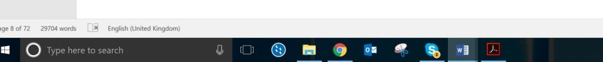 Image showing the taskbar at default size