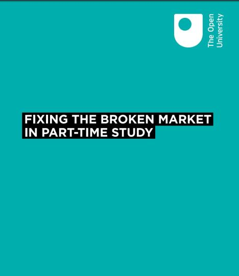 green front cover of OU report Fixing the broken market