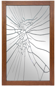 image of a broken mirror from pizabay