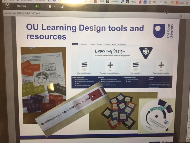 Range of Learning Design projects at the Open University
