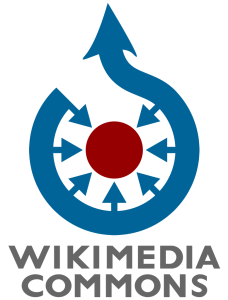 logo for wikimedia commons