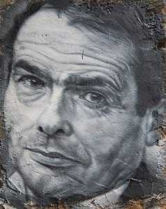 black and while image of Pierre Bourdieu