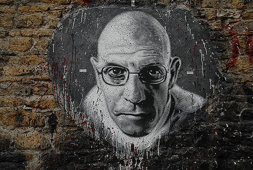 Michel Foucault portrait