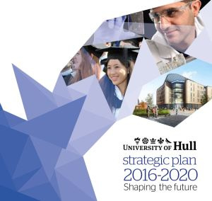 Front Cover of University of Hull Strategic Plan