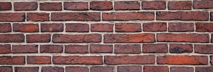 image showing a brick wall