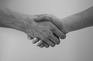 image showing a handshake