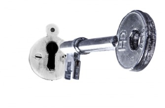 image showing a key and a lock