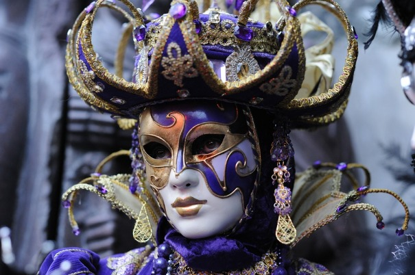 image showing a carnival mask